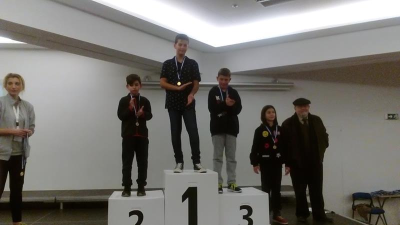 χρυσό μετάλιο στο σκάκι