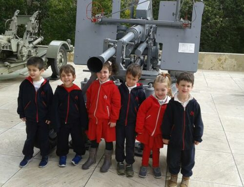 Το νηπιαγωγείο επισκέφτηκε το Πολεμικό Μουσείο