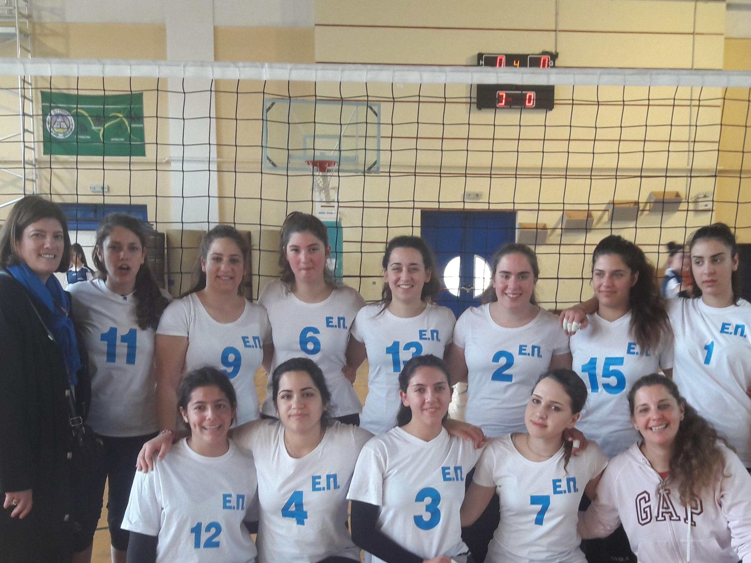 Διασχολικό πρωτάθλημα Πετοσφαίρισης κοριτσιών