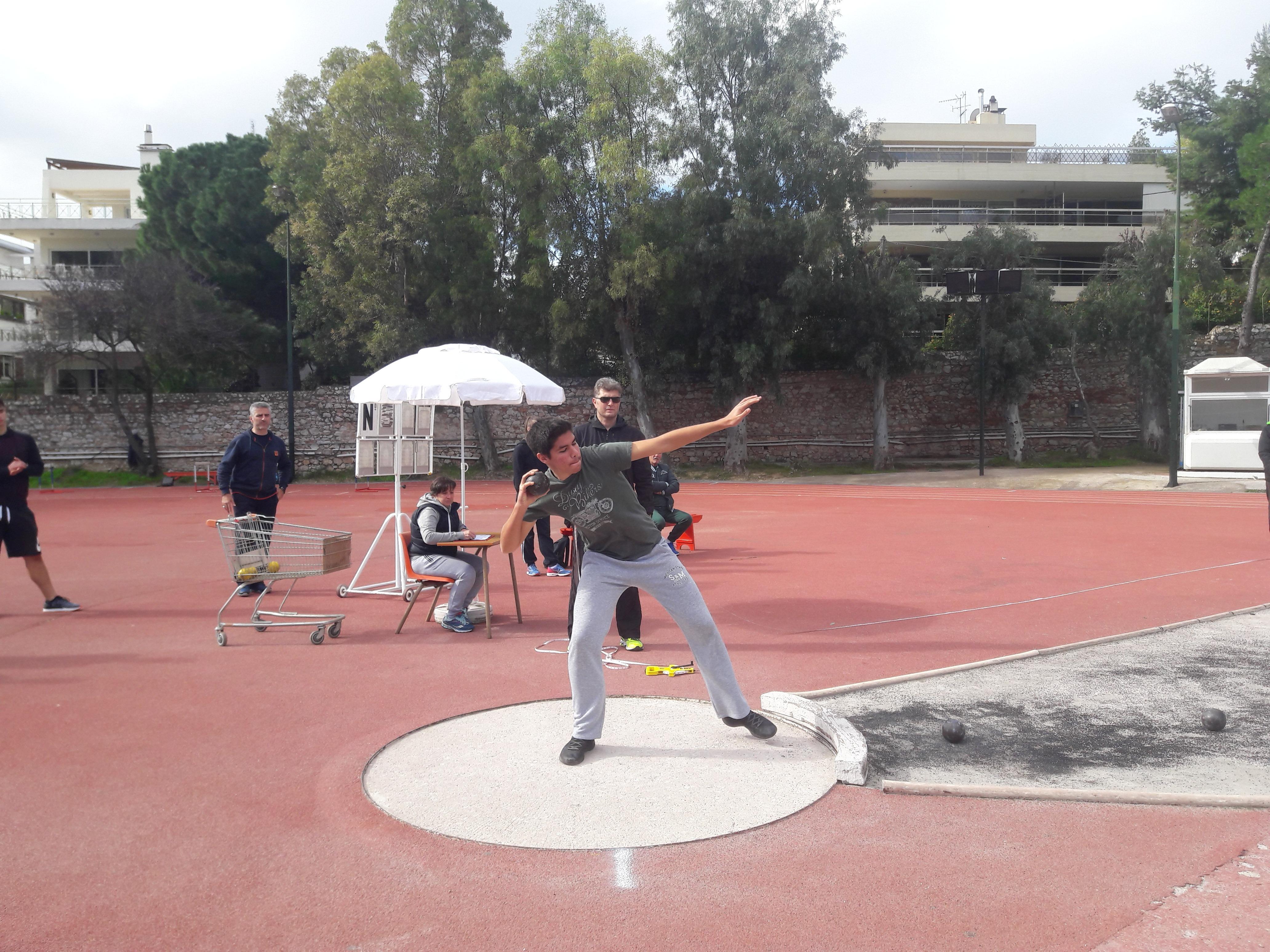 Διασχολικό πρωτάθλημα Στίβου - Σφαιροβολία