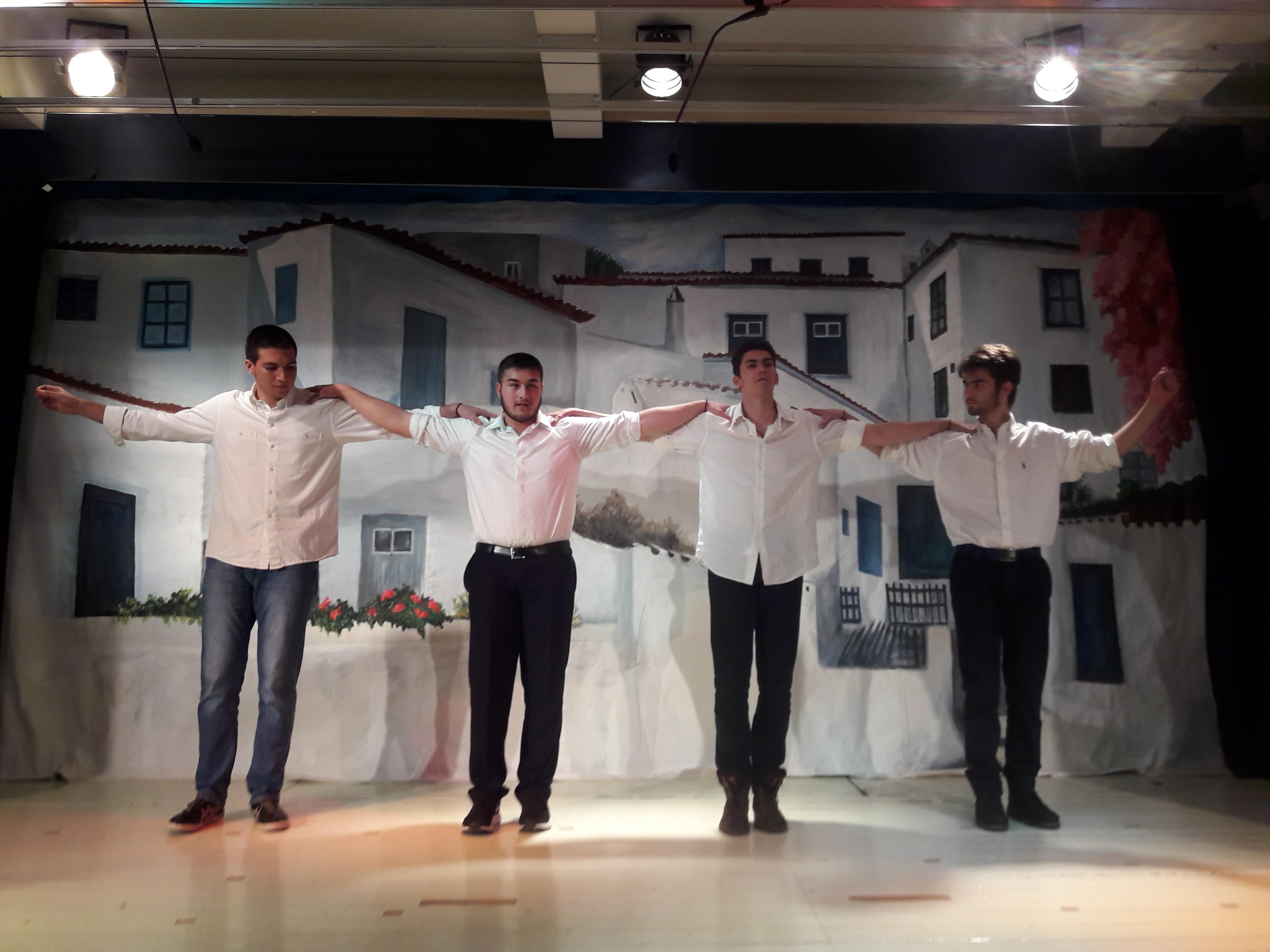 Ομάδα χορών Γ΄ Λυκείου