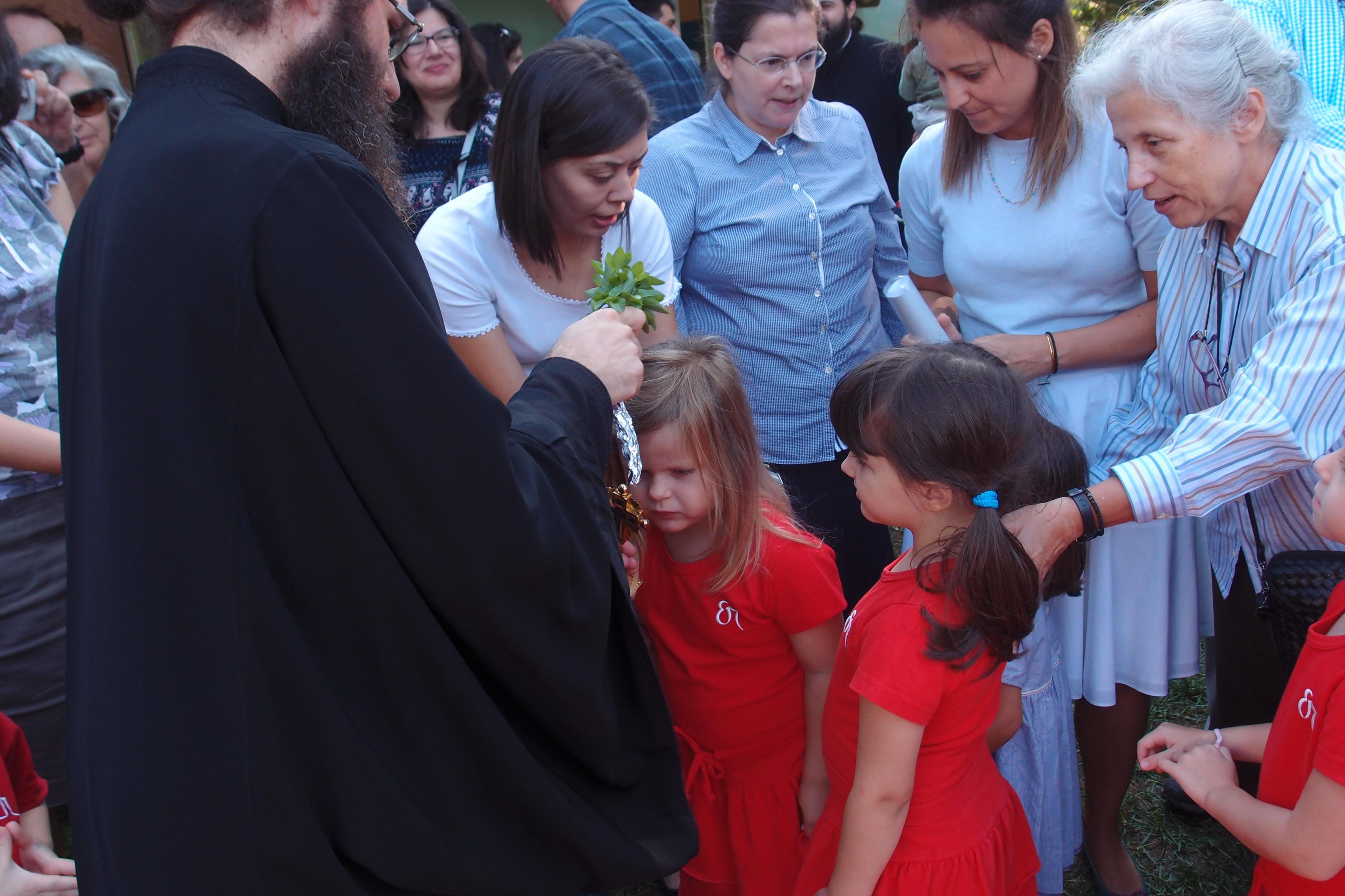 Αγιασμός Νηπιαγωγείου και Παιδικού Σταθμού