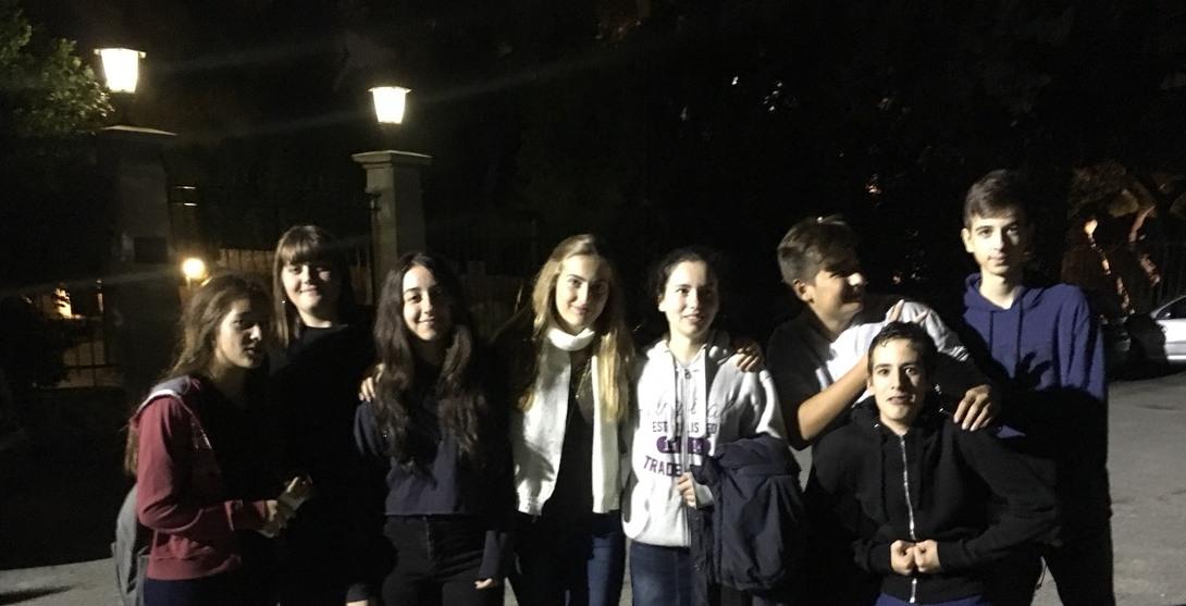 Η ομάδα που επισκέφτηκε το Αστεροσκοπείο Αθηνών