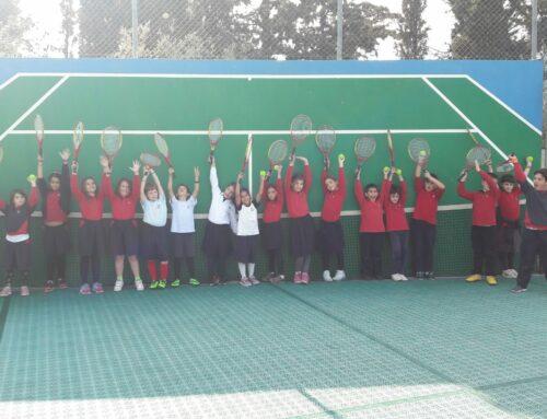 Τα μυστικά του τένις! Επίσκεψη στο Yellow Tennis Club