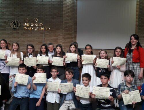 Βράβευση μαθητών μας στο διαγωνισμό «Παιχνίδι και Μαθηματικά» του Μικρού Ευκλείδη