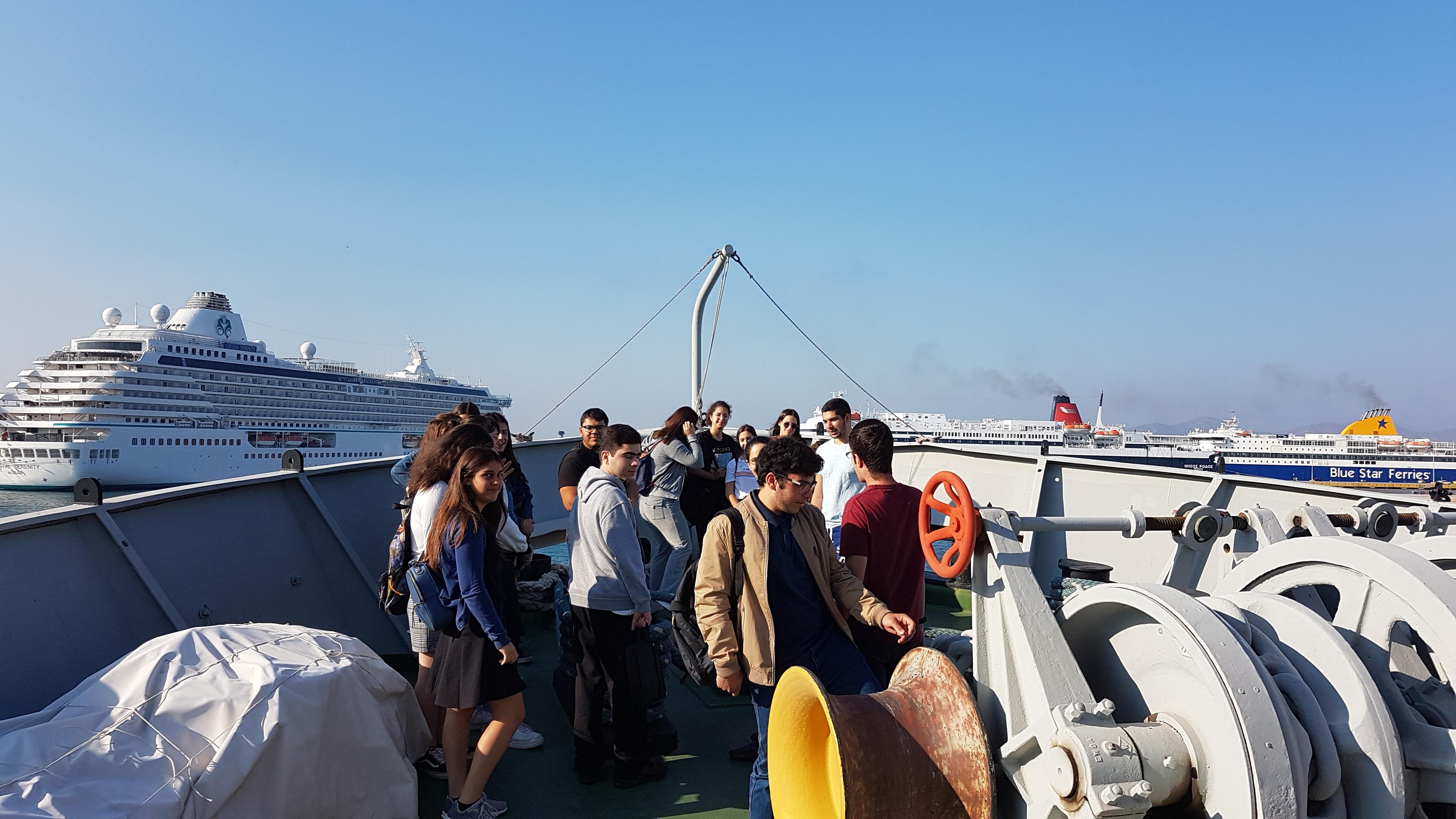 Επίσκεψη στο πλοίο ΕΛΛΑΣ ΛΙΜΠΕΡΤΥ