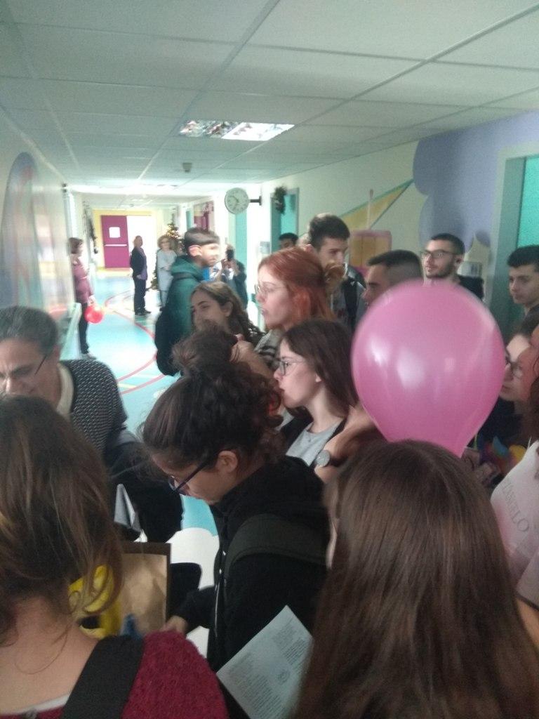 Επίσκεψη αγάπης στο Νοσοκομείο Παίδων