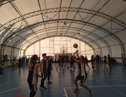 Συμμετοχή σε διασχολικούς αγώνες Πετοσφαίρισης για το Γυμνάσιο Ηρακλείου