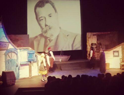 """Το Γυμνάσιο Αμαρουσίου στην παράσταση """"Σταχομαζώχτρα"""" του Παπαδιαμάντη"""