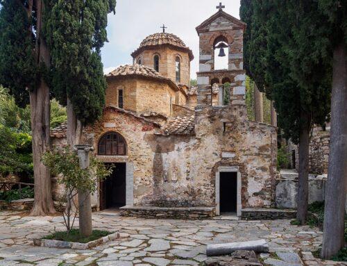 Εκπαιδευτική επίσκεψη στην Ιερά Μονή Καισαριανής – Β΄τάξη του Γυμνασίου Ηρακλείου