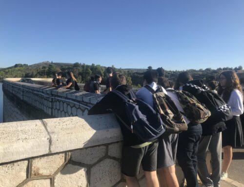Εκπαιδευτική επίσκεψη της Γ' Γυμνασίου Ηρακλείου στο Φράγμα και στον Τύμβο Μαραθώνα.