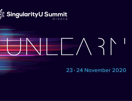 Διαδικτυακή παρακολούθηση του Συνεδρίου SingularityU Summit Greece με θέμα «UNLEARN»