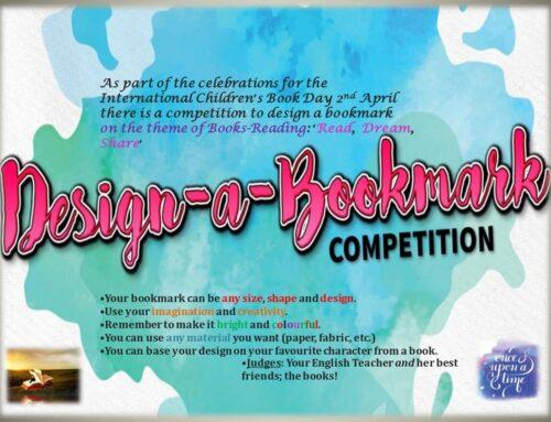 Design-a-bookmark Competition