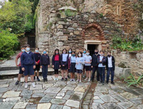 Επίσκεψη στην Ιερά Μονή Καισαριανής – Ε΄ Δημοτικού Αμαρουσίου