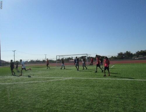Το Λύκειο Ηρακλείου τιμά την Πανελλήνια Ημέρα Σχολικού Αθλητισμού